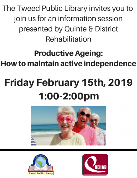 Productive Ageing: How to maintain active independence
