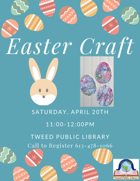 Easter Craft @ The Tweed Public Library