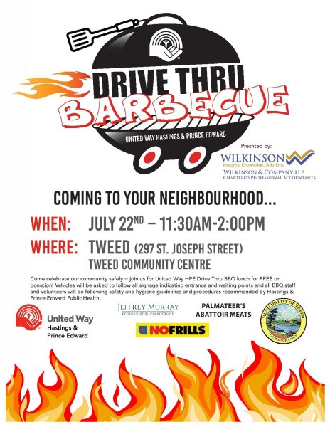 United Way Drive Thru Barbeque