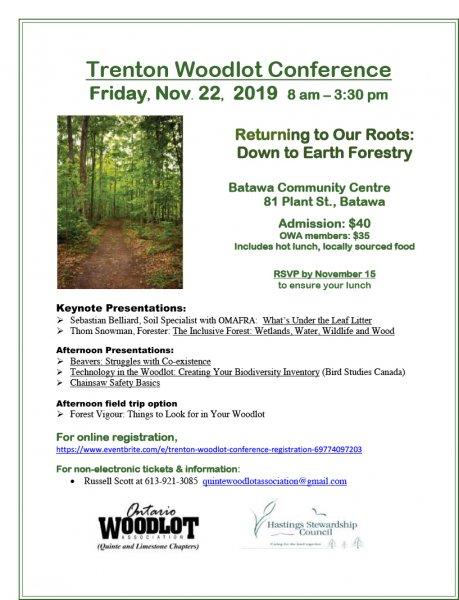 Trenton Woodlot Conference