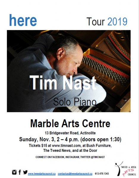 Tim Nast - Canadian Pianist & Composer at the MAC