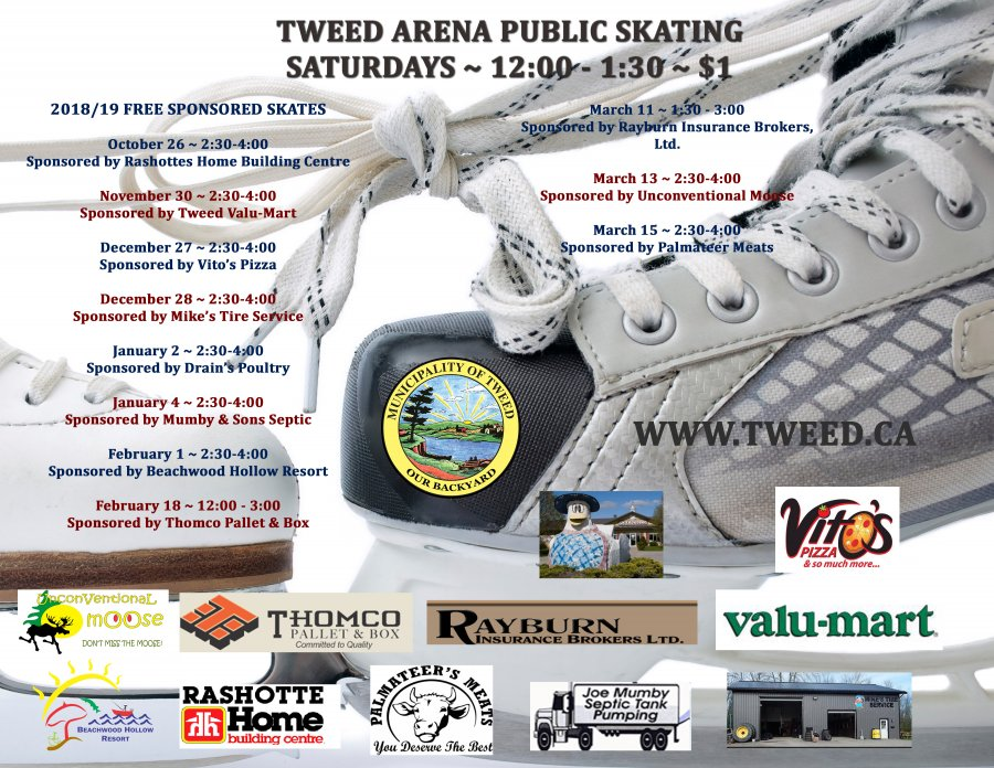 2018/19 Free Sponsored Skates