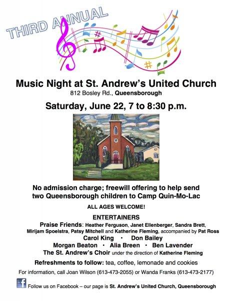 Music at the Church, Queensborough