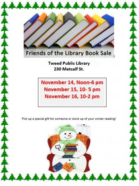 Friends of Tweed Library Book Sale