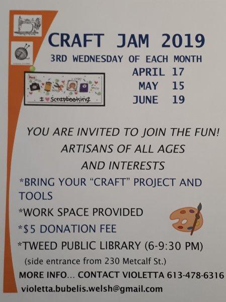 Craft Jam