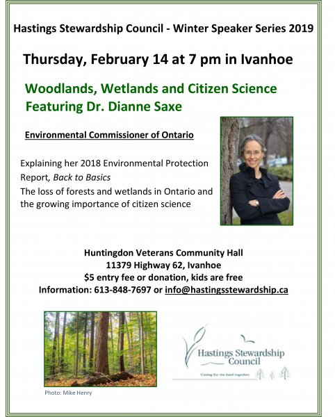 Woodlands, Wetlands and Citizen Science with Dr. Dianne Saxe