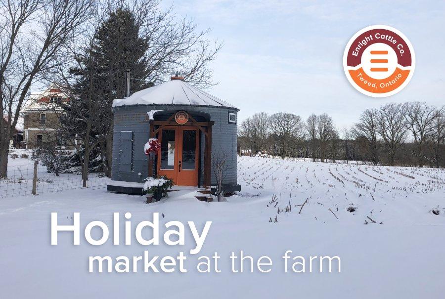 Holiday Market on the Farm