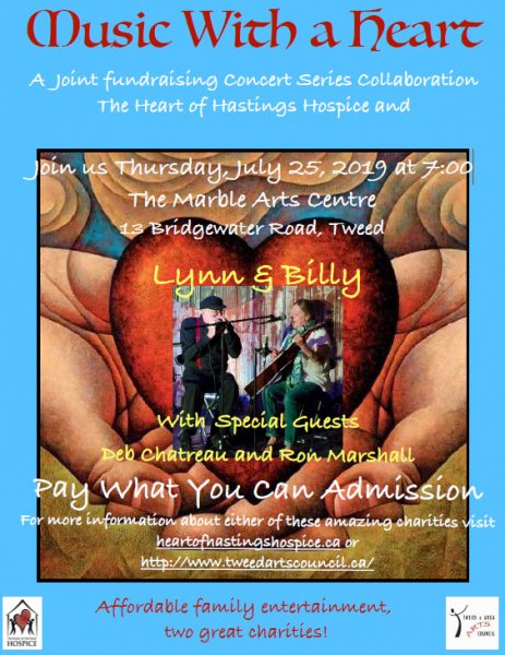 Hospice/T&AAC Music with a Heart - Lynn & Billy