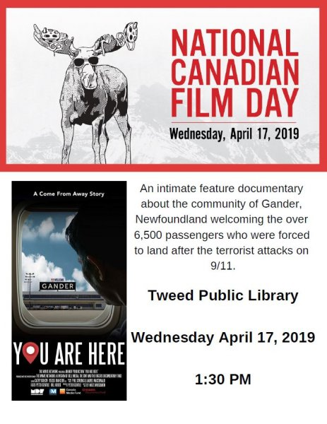 National Canadian Film Day @ The Library