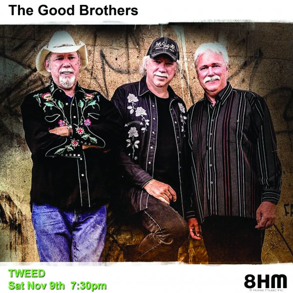 The Good Brothers live in concert at the Marble Arts Centre