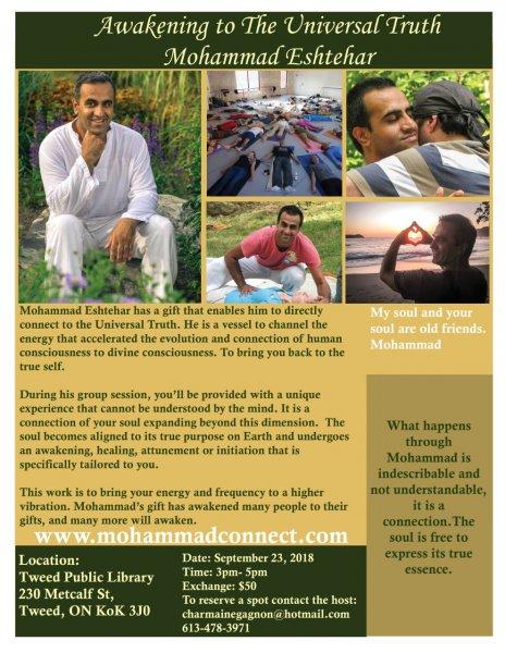 Awakening to the Universal Truth with Mohammad Eshtehar