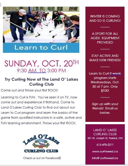 Learn to Curl Open House