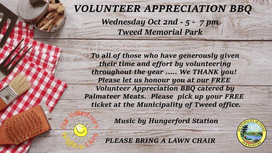 Volunteer Appreciation BBQ