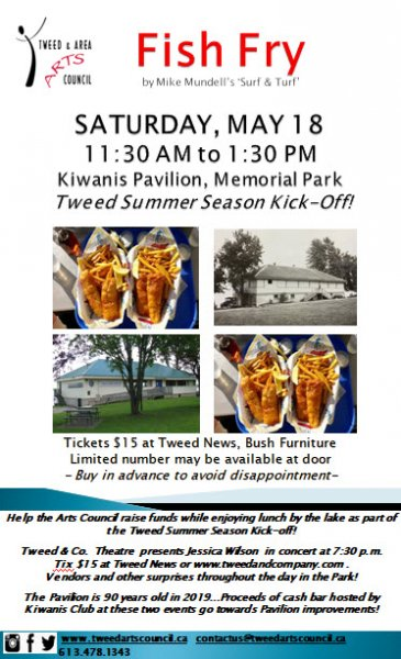 Tweed & Area Arts Council Fish Fry - Tweed Summer Season Kick-Off!