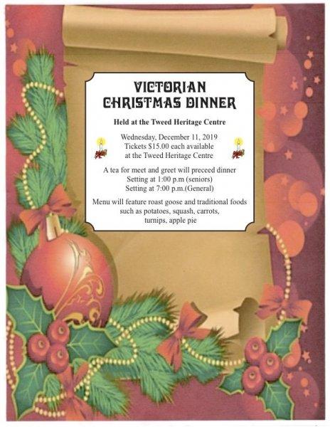 Victorian Christmas Dinner
