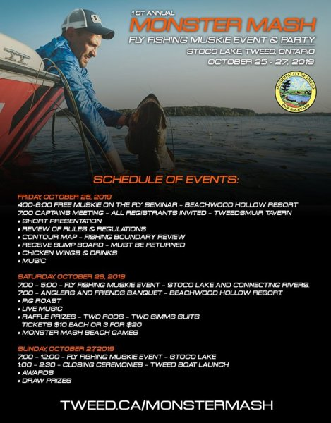 Monster Mash - Fly Fishing Muskie Event