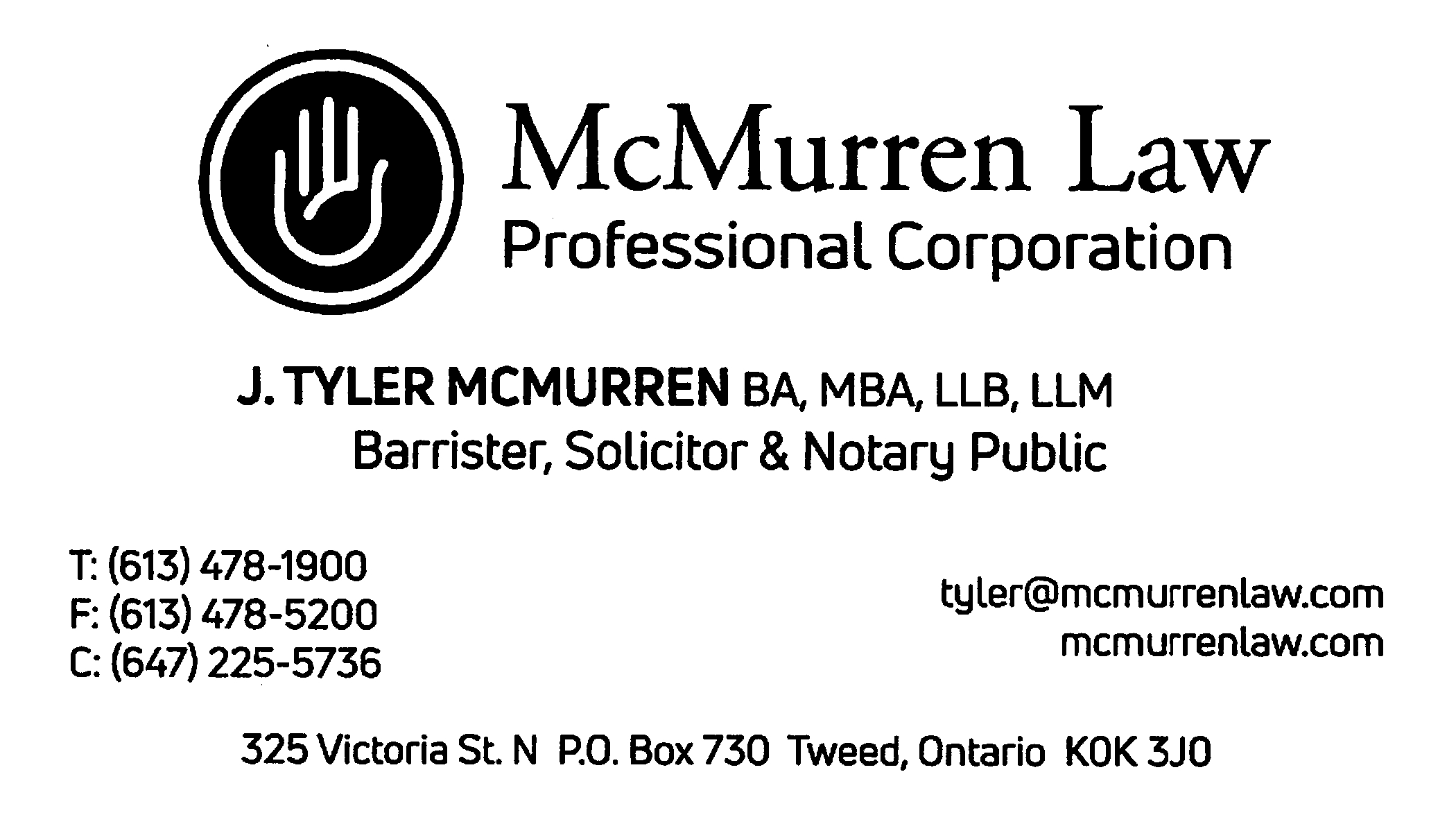 McMurren Law - J Tyler McMurren, Lawyer & Not