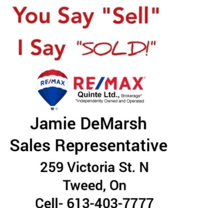 Jamie DeMarsh - Re/Max Quinte Ltd.